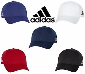 6827aa152c5 Image is loading ADIDAS-GOLF-Structured-Baseball-Hat-UV-Core-Climalite-