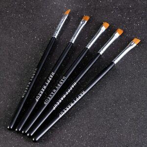 5Pcs-Eyebrow-Inclined-Flat-Angled-Brush-Eyeliner-Eyeshadow-Eye-Brow-Makeup-Tool