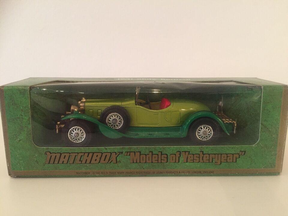 Legetøjsbil, Matchbox Y-14 1931 Stutz Bearcat