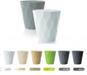 Rocka-Lovely-Design-Flower-Pot-Indoor-Outdoor-Garden-Office-14cm-1-75L-Colours