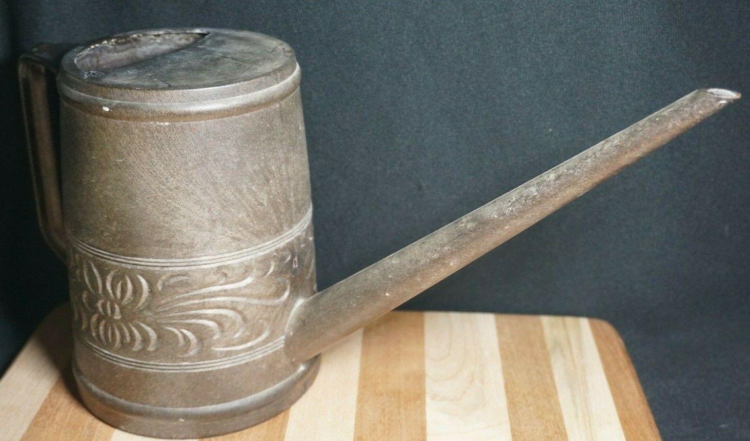 Swedish Small Vintage Garden Watering Can Hard Durable Plastic 1.8L Decor