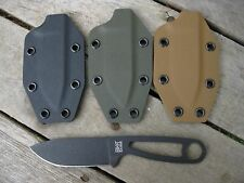 Valhalla Custom Kydex Sheath Ka-Bar Kabar Becker BK 14 Kydex  BLACK SHEATH ONLY