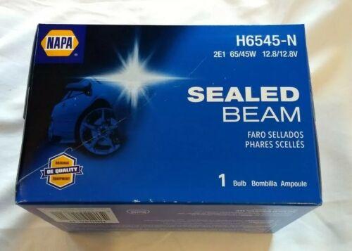 Lot of 6 NAPA H6545-N Halogen Headlamps Sealed Beam ~ 2E1 ~ 12.8V ~ 65//45W