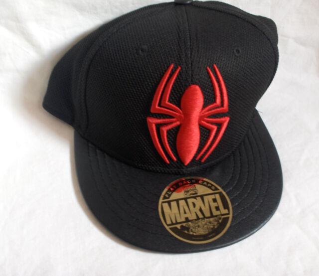 Kappe Rot//Schwarz Spider-Man Cap,Schirmm/ütze