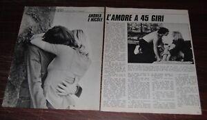 Clipping-ritaglio-anni-70-ANDREA-E-NICOLE-FILM-IL-MAESTRO-DI-VIOLINO