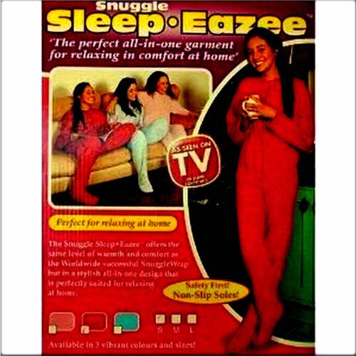 New Snuggle Sleep-Eazee all in one Ladies//Mens Garment Onesie Pink Large 16-18