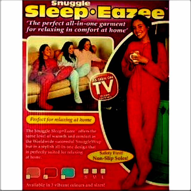 New Snuggle Sleep-Eazee all in one Ladies/Mens Garment Onesie Pink Small 8 - 10