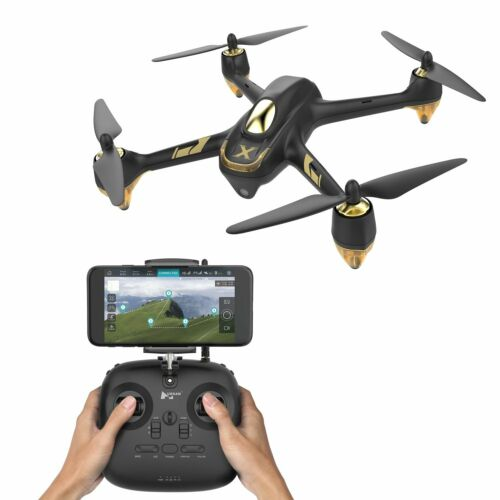 Hubsan H501A X4 Brushless FPV RC Quadcopter W// 1080P Waypoints Follow Me GPS APP