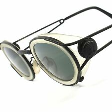 Authentic Versace S01 True Vintage Rare Old School Indie Round Oval Glasses