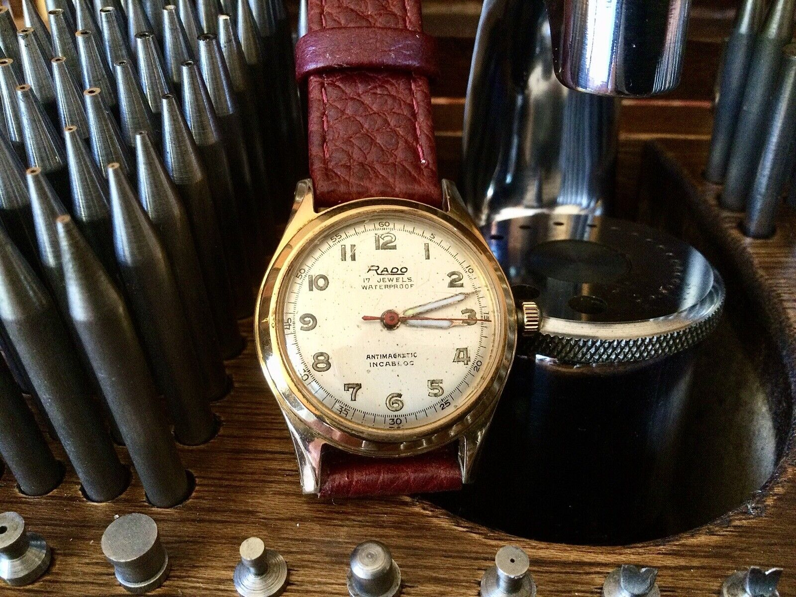 Rado. Reloj Vintage. All Full Serviced. In Working Order
