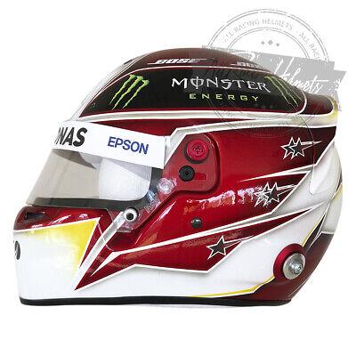 Mercedes AMG 1:2 Mini F1 casco Lewis Hamilton 2019