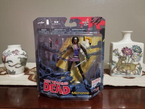 Zombies, Michonne B//W Negan Walking Dead Comic Book Series Bloody Rick