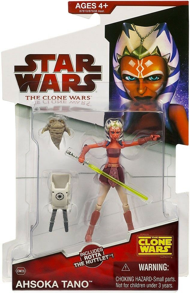 Star Wars Clone Wars 2009 Ahsoka Tano Action Figure CW26