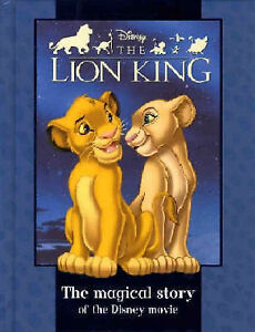 Disney-Magical-Story-034-Lion-King-034-Disney-Book-of-the-Film-Anon-Very-Good-Boo