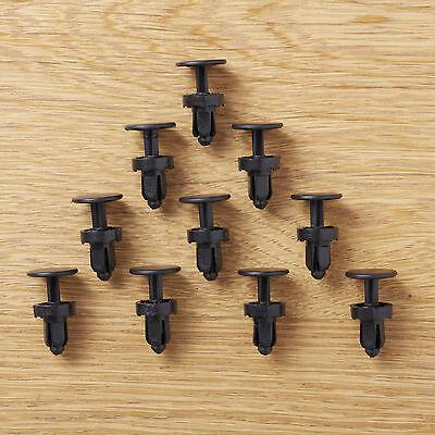90-93 Honda Accord CB1 CB2 CB3 CB4 CB7 SM4 mk4 Cowl panel lock clip 10x