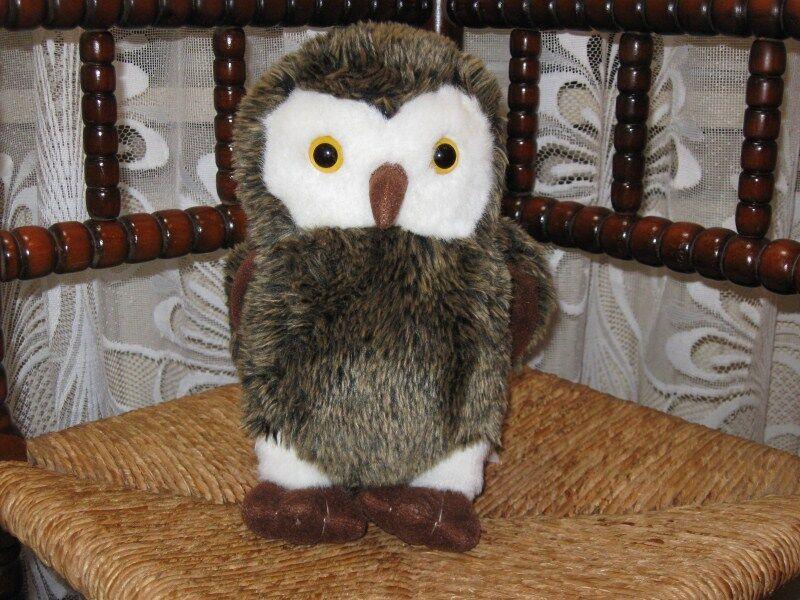 Sligro Food Holland Soft Owl Plush Rare