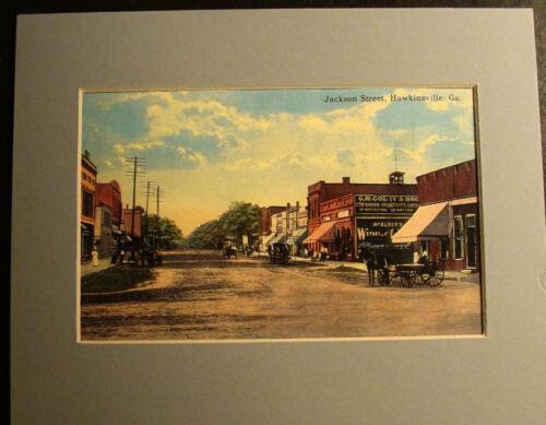 JACKSON STREET HAWKINSVILLE GA. Print