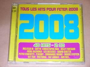 CD-TOUS-LES-HITS-POUR-FETER-2008-NEUF-SOUS-CELLO