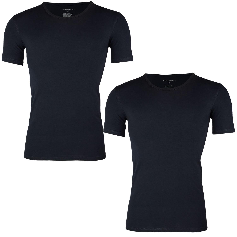 2 Herren Shirts Shirts Shirts von Baldessarini  Unterhemden 1 2 Arm Rundhals Baumwolle schwarz   Outlet Store Online    Flagship-Store    Roman    Charakteristisch    Hohe Qualität und geringer Aufwand  b1e034