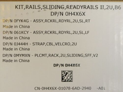 NEW READYRAILS SLIDING RACK RAILS DELL POWEREDGE R540 R740 R740xd SERVER F9HYC