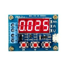 Battery Capacity Meter Discharge Tester 18650 li-ion lithium Lead-acid 1.2-12v a