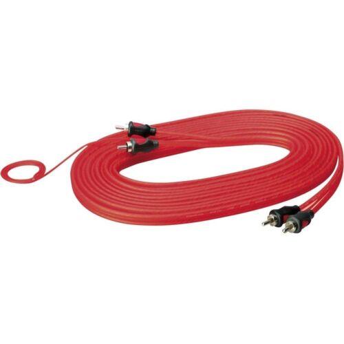 Cinchkabe 5 metros sinus Live ck-50 roja cinch cable 3-especializada blindado