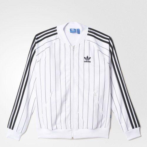 Rare Femmes Girl Veste Noir Aj8439 survêtement Originals de Adidas Super Blanc CTw0vx7TqW