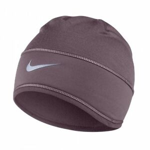 9844f498dee Details about NEW TAGS NIKE WOMEN S RUNNING TRAINING BEANIE SKULLY HAT CAP  PURPLE DRI FIT