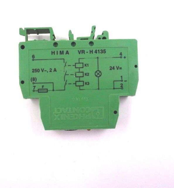Business Industrial Used Hima Vr H4135 Safety Relay H4135 Hararejournal Co Zw