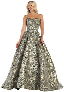 great deals 2017 how to purchase fashion style of 2019 Details about UNIQUE DESIGNER EVENING GALA GOWN SPECIAL OCCASION PROM DANCE  FORMAL RED CARPET