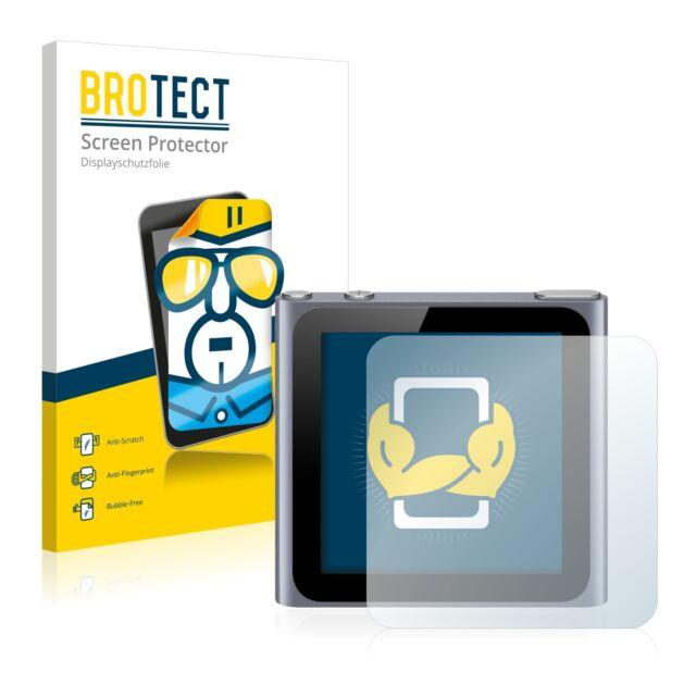 2x BROTECT Screen Protector Apple iPod nano 2011 (6th. generation) Protection