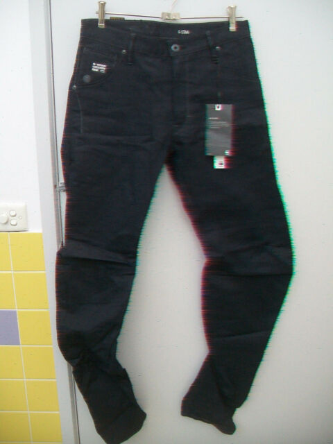 NEW G STAR ARC LOOSE TAPERED JEANS SIZE 30