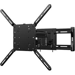 sanus tv mounts sanus flf118 vuepoint motion tv wall mount for 47 quot 70 12845
