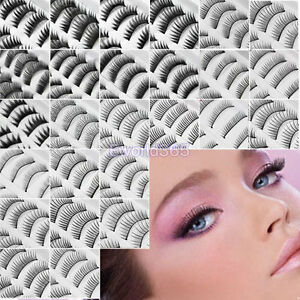 New-10-Pairs-Quality-Soft-Fake-False-Eyelashe-Eye-Lashes