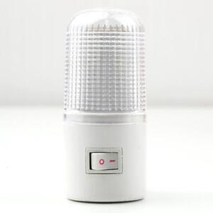 1W-4-LED-Night-Light-Bedside-Lamp-Wall-Mounted-US-Plug-Bedroom-Lighting-Bulb-New