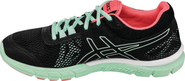 Asics Women's Gel Craze TR 4 Shoe Black Onyx Bay Aqua Green S755N 9099 6 11 NIB
