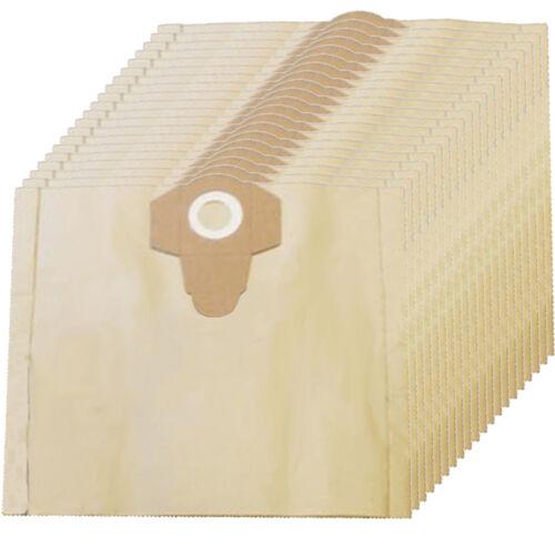 20 x poussière sacs pour Draper aspirateur 30 L Litres WDV30SS WDV50SS WDV50SS//110