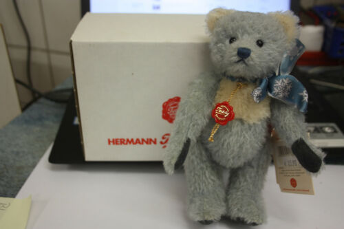 Hermann Teddy 119203 Sammlerbär Blausternchen limitiert