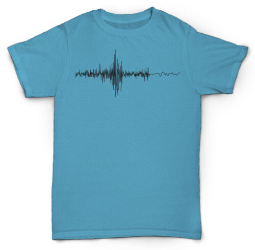 SOUND WAVES T-SHIRT MIXING RECORDING HIP HOP DJ MC RAP