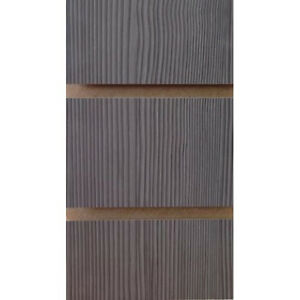 7d00cad150e Pino Grey Slatwall Panels with free inserts 2400mm x 1200mm - Retail ...