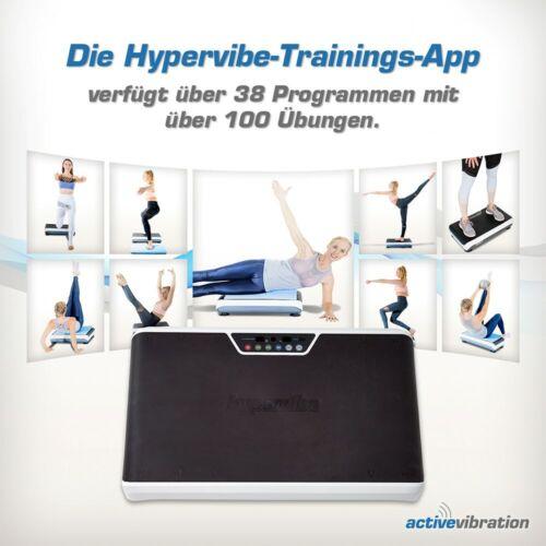 Hypervibe G10v2 Vibrationsplatte 5-25 Hz