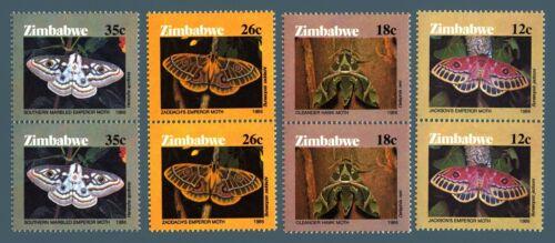 ZIMBABWE - 1986 - Farfalle - Butterflies
