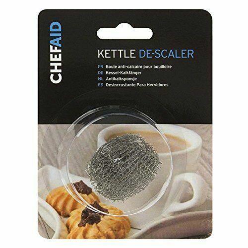 argent Pack de 1//2//4 Chef Aid en acier inoxydable Donut Kettle Descaler