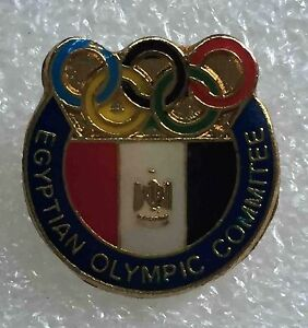 olympic pin NOC EGYPT 1980 Generic old rare
