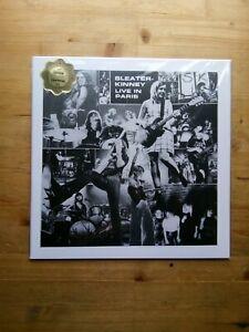 Sleater-Kinney-Live-in-Paris-Near-Mint-GREEN-Vinyl-Record