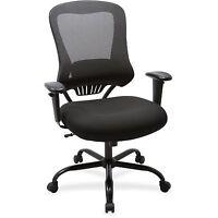 Lorell Mesh Executive Chair, 400lb, 23x30-1/4x46-.-3/4, Bk 59536 on sale