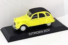 Citroen 2CV gelb 1:43 Altaya
