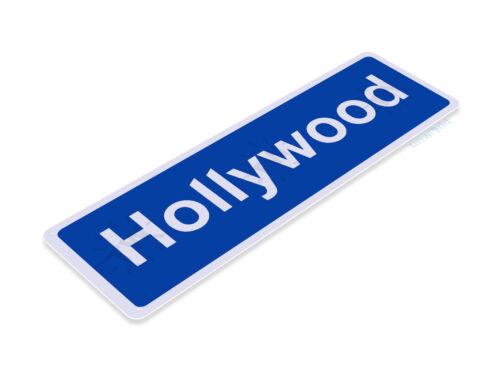 TIN SIGN B881 Hollywood Blvd Street Sign Los Angeles LA California Metal Decor