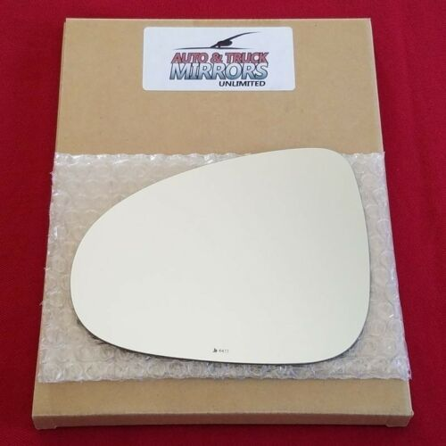 Mirror Glass Replacement Full Adhesive For 11-17 Volks Touareg Driver Side