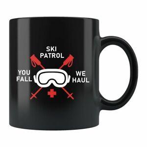 Ski Patrol Gift Ski Patrol Mug Skier Gift Skier Mug Skiing Gift Skiing Mug